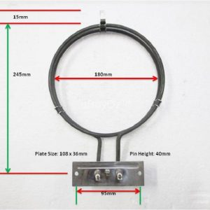 Chef Oven Fan Element 2400W 36758