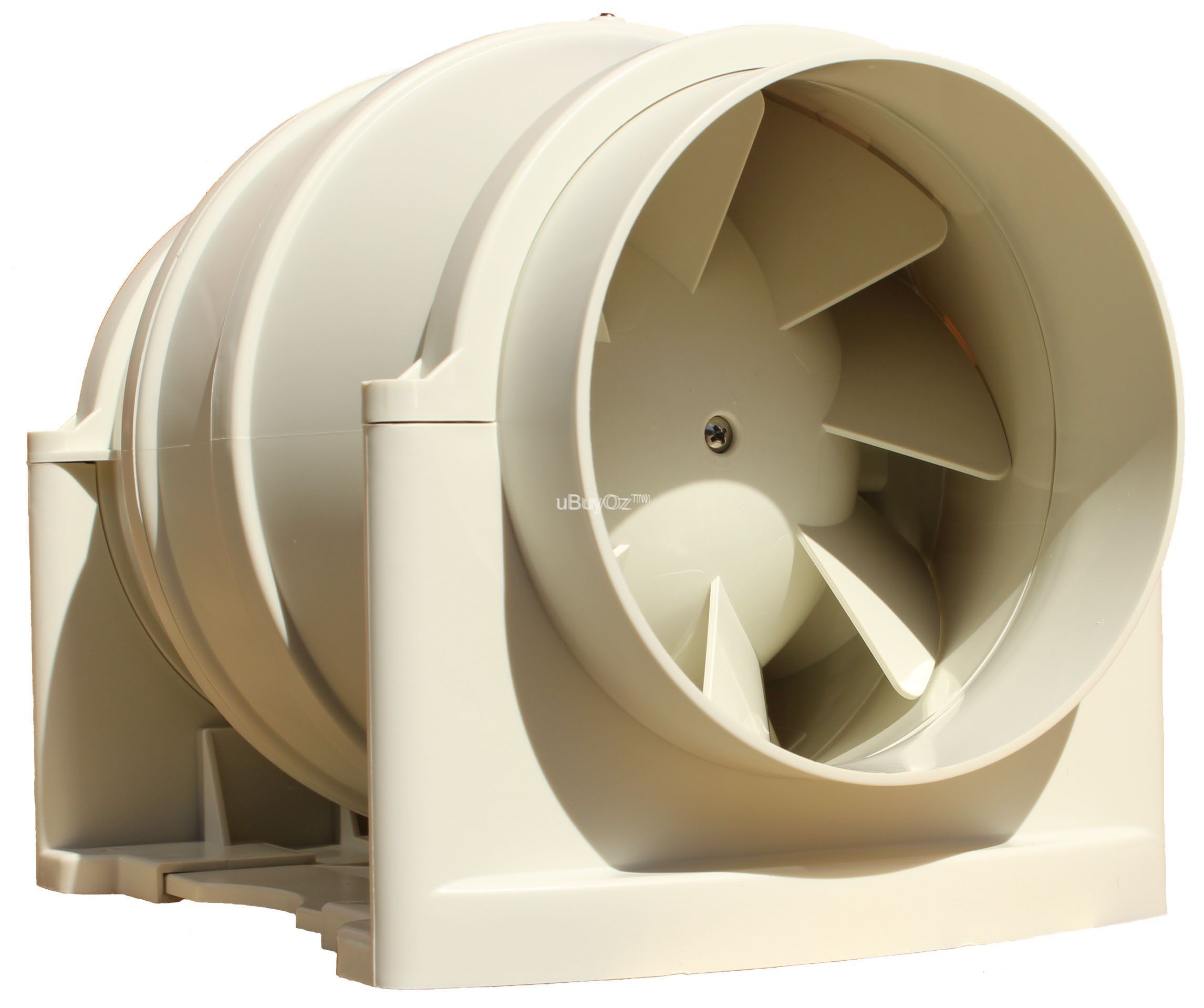 Deflecto In-Line Ducting Fan Motor 2 Speed 150mm Duct