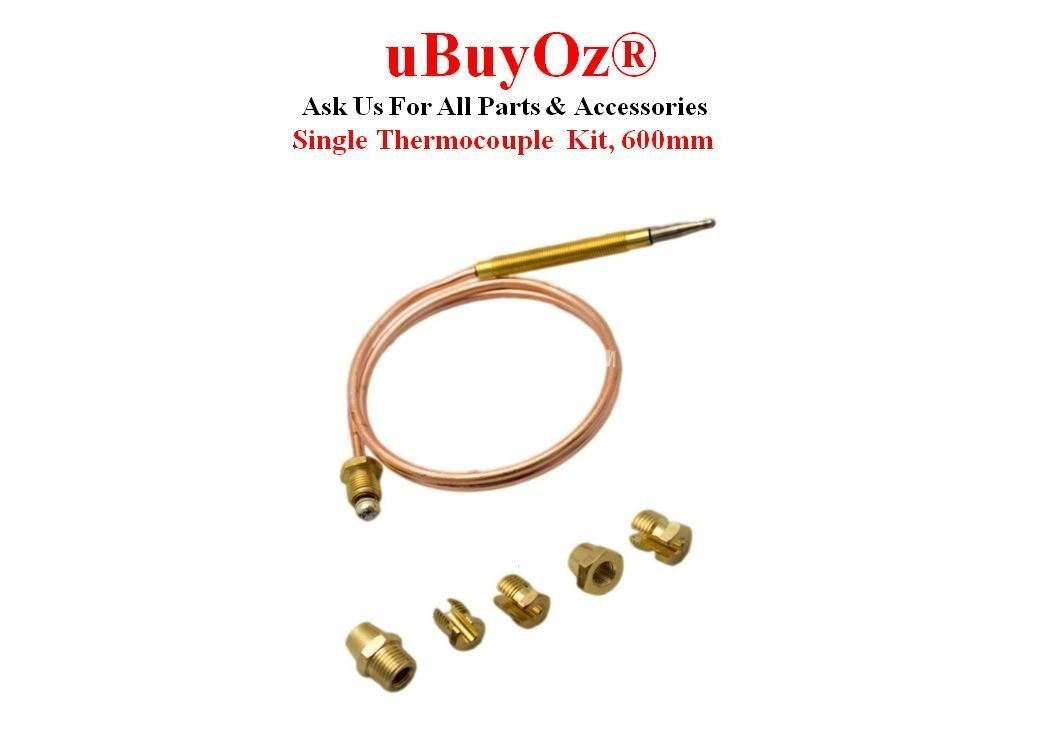 Universal Thermocouple Kit 600mm CC40600Z