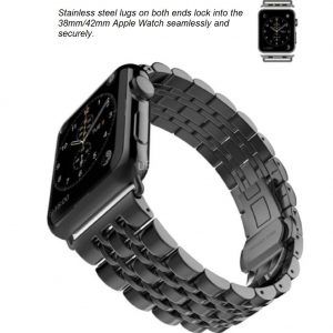 Replacement Link Bracelet Watch Band for Apple Watch