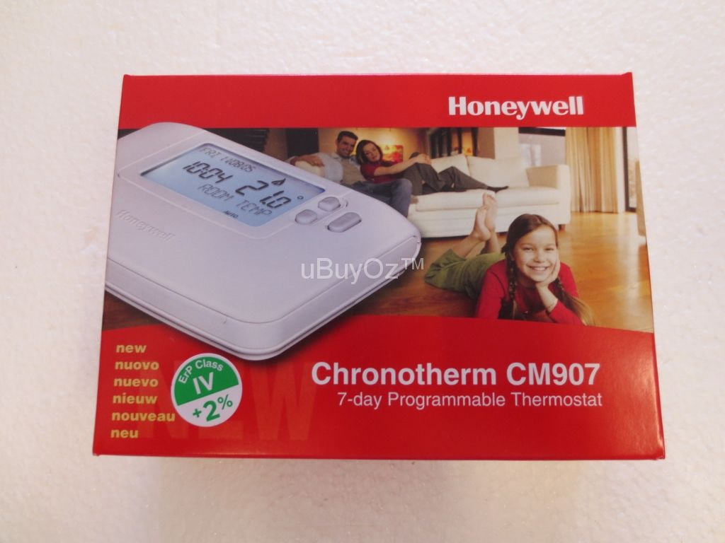Honeywell 7 Day Programmable Room Thermostat CM907
