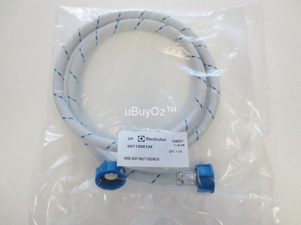 0571200124 Washing Machine Cold Water Inlet Hose, 1350mm