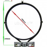 Universal Oven Fan Element Easy Install 2200W